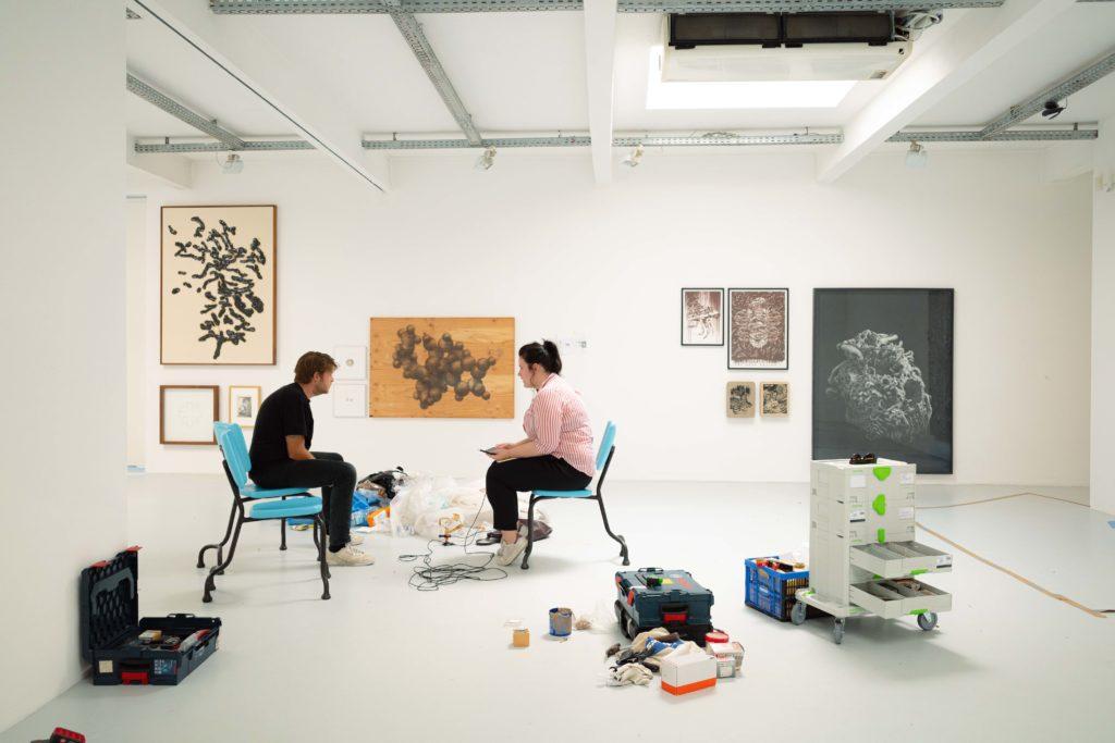 Transalpine Gespräche #2 – Galerieräume, die sich öffnen.